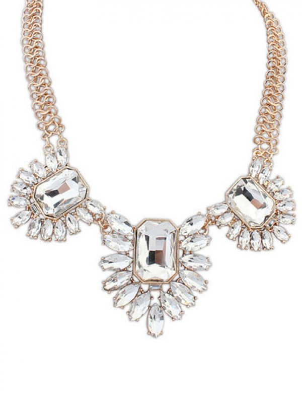 Occident Stylish Gemstone Temperament Hot Sale Necklace