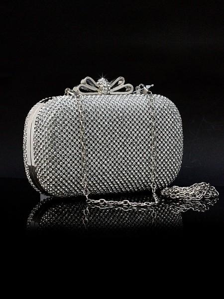 Rhinestones Evening Handbags