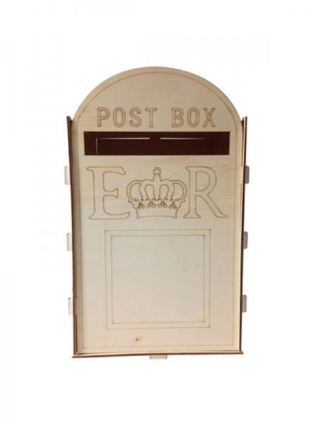 Exquisite Wooden Wedding Post Box