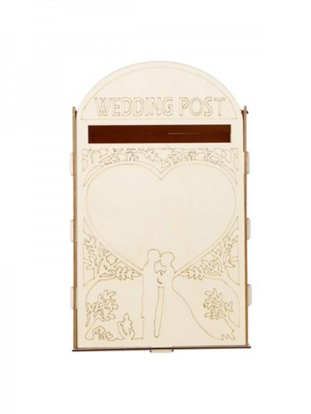 Fancy Wooden Wedding Post Box