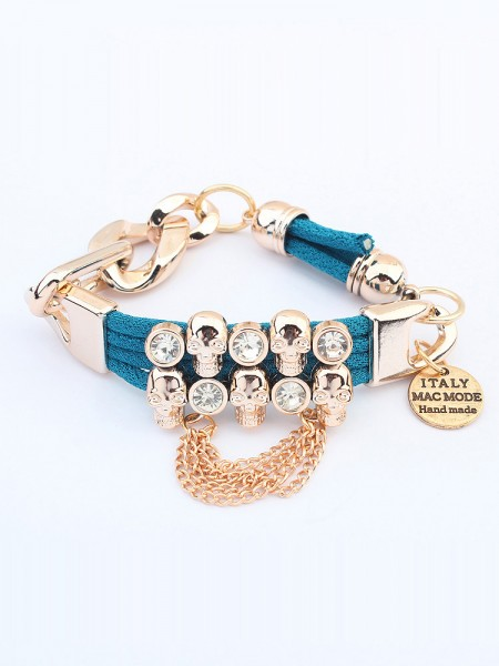 Occident Punk Hyperbolic Skull Hot Sale Bracelets