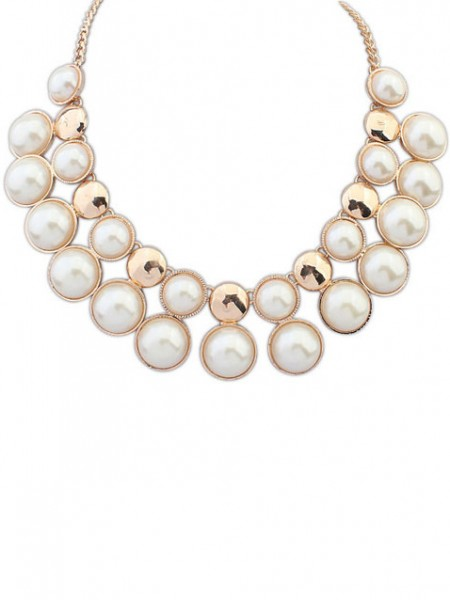 Occident Exquisite all-match Temperament Pearls Hot Sale Necklace