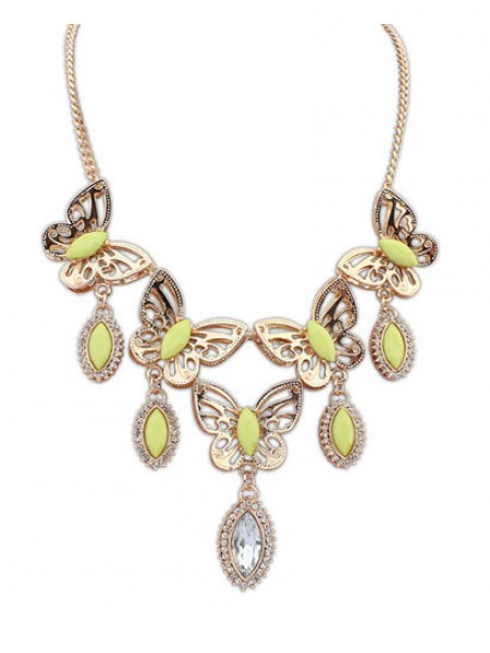 Occident Stylish Butterfly Tears Boutique Hot Sale Necklace