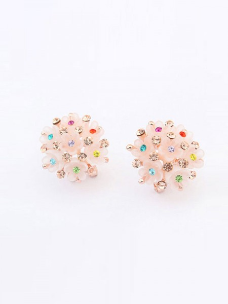 Occident All-match Floret Hot Sale Ear Clip