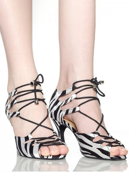 Women's Other Peep Toe With Lace-up Stiletto Heel Sandals